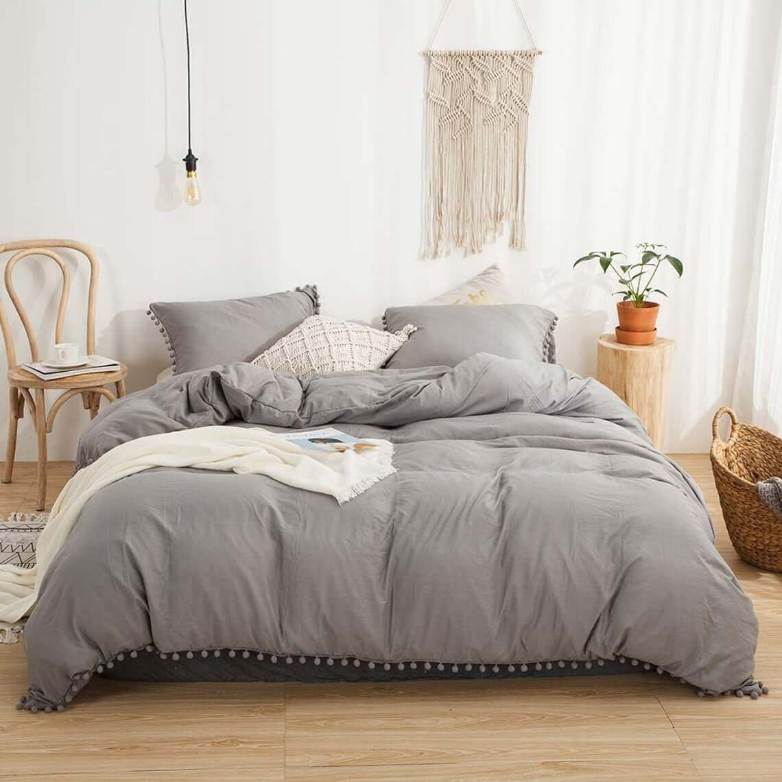 Farmhouse bedding set ideas new style